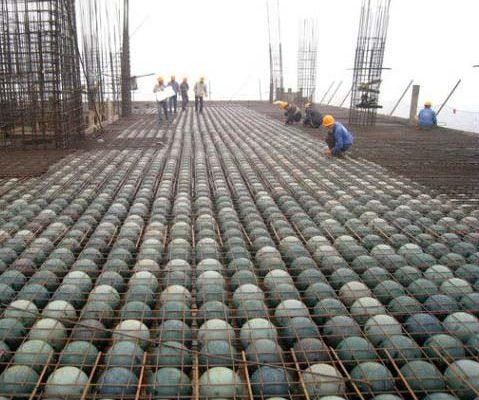 Sàn bê tông bóng nhựa làm giảm trải trọng công trình xây dựng