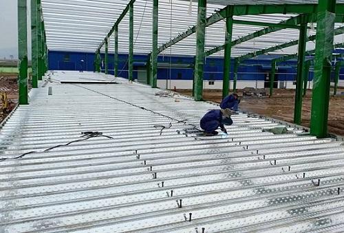 Cấu tạo sàn bê tông Deck