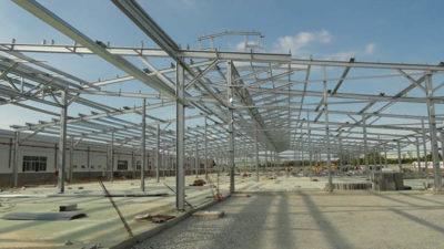 Nhà xưởng khung thép mái tôn được nhiều người ưa chuộng