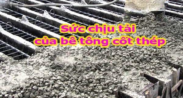 Sức chịu tải của sàn bê tông cốt thép