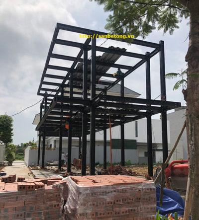 Một nhà khung thép do Panel Thành Đô thi công tại Quảng Ninh
