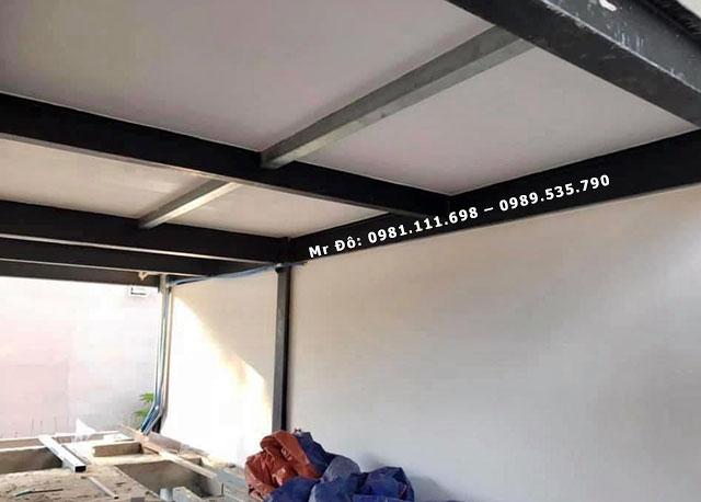 Tấm tường bê tông nhẹ ALC sau khi hoàn thiện