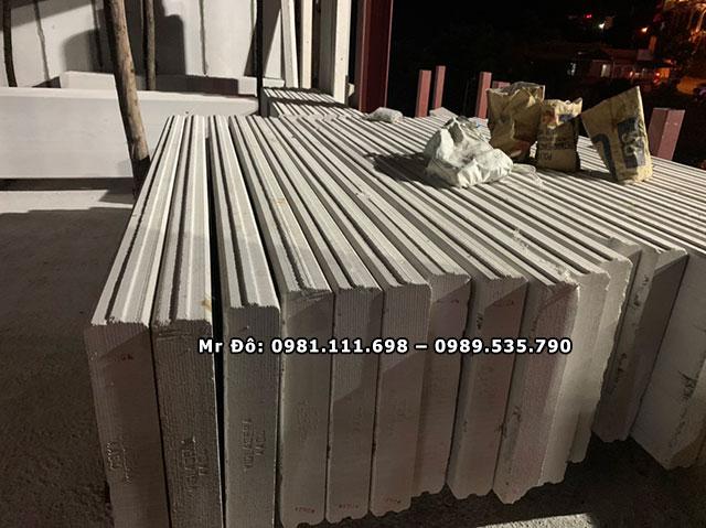 Tấm tường bê tông nhẹ ALC được sản xuất hàng loại tại nhà máy theo tiêu chuẩn cao