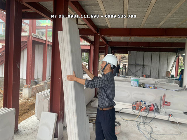 Tấm tường bê tông nhẹ ALC có nhiều ưu điểm so với xây tường truyền thống