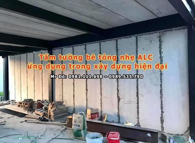 Tấm tường bê tông nhẹ ALC
