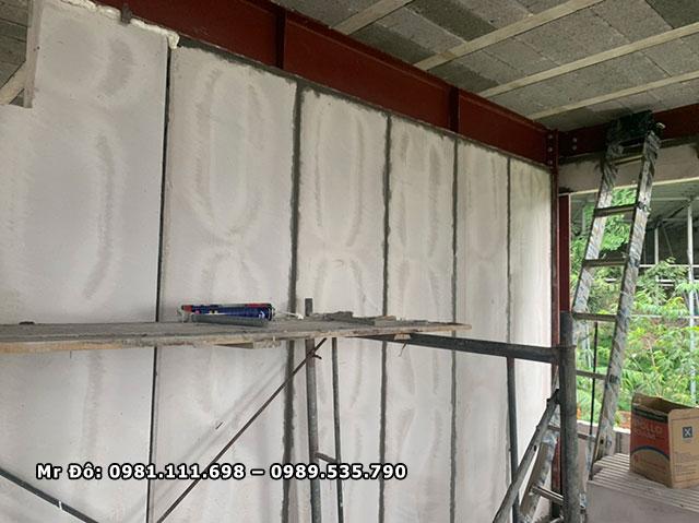 Tấm tường bê tông nhẹ được lắp ghép